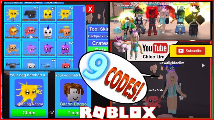 Roblox Mining Simulator Gamelog - June 24 2018