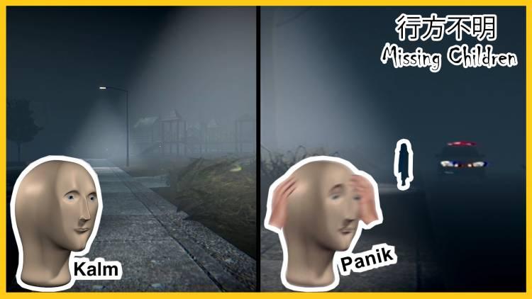 Horror let's play: Missing Children   行方不明 - Japanese Horror Indie Game Bad Ending
