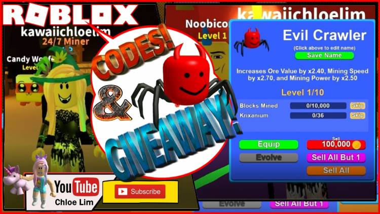 Roblox Mining Simulator Gamelog - October 28, 2018