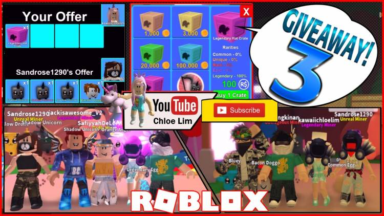 Roblox Mining Simulator Gamelog - May 7 2018