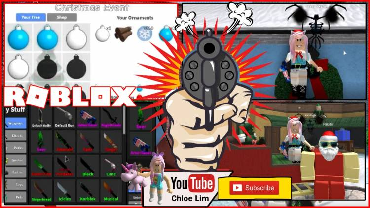 Roblox Murder Mystery 2 Gamelog - December 27 2018