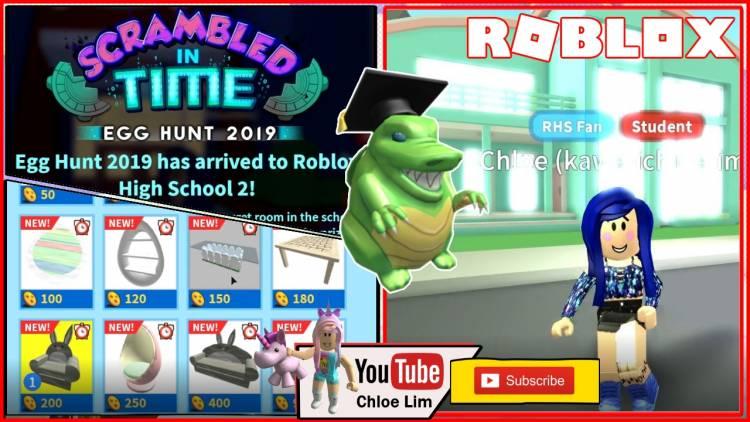 Roblox High School 2 Gamelog - April 29 2019