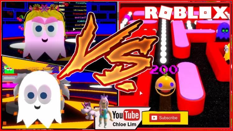 Roblox Pac-Blox Gamelog - June 24 2019