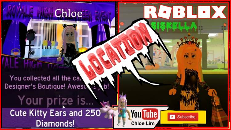 Roblox Halloween Event 2020 Prize Roblox Royale High Halloween Event Gamelog   October 04 2019