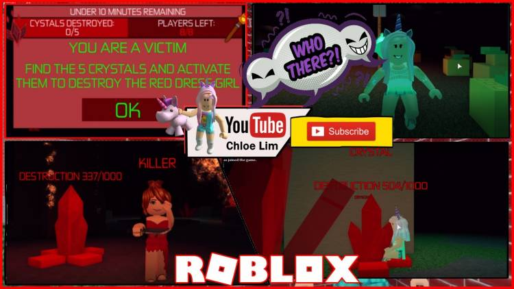 Roblox Survive the Red Dress Girl Gamelog - May 25 2018