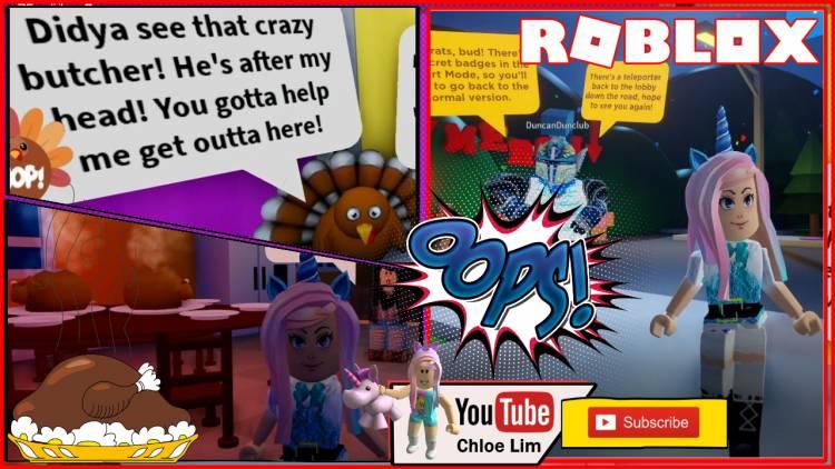 Roblox Save Tom the Turkey Obby Gamelog - November 30 2019