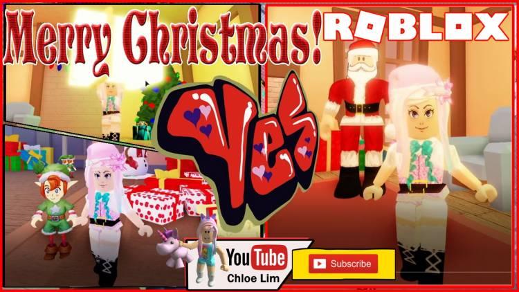 Roblox Saving Christmas Gamelog - December 25 2019