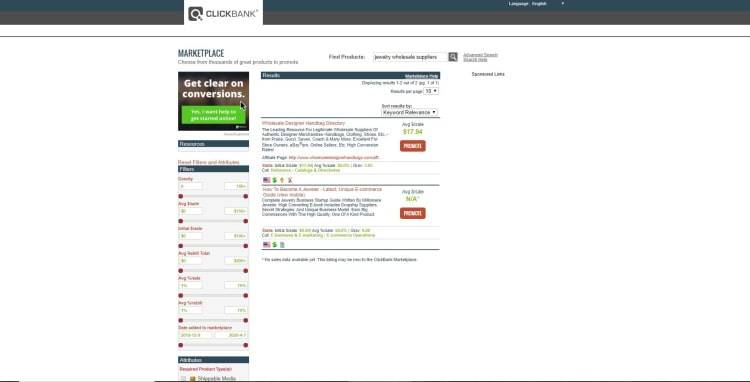 Jewelry Wholesale Suppliers [ClickBank Marketplace 2020]