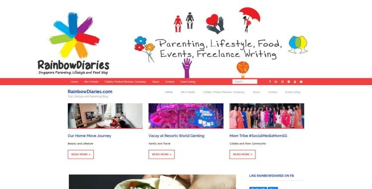 RainbowDiaries.com - Top Lifestyle and Parenting Blog