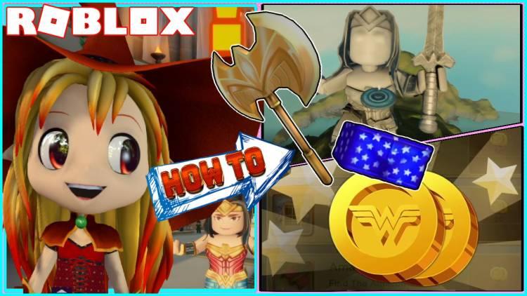 Roblox Wonder Woman Gamelog - June 27 2020