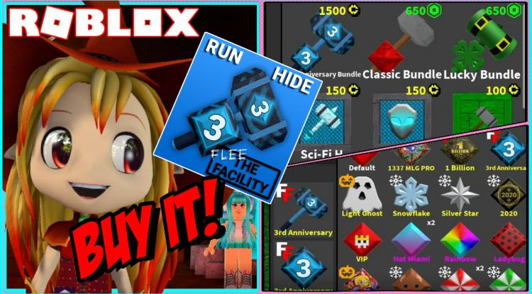 Roblox Flee the Facility Gamelog - July 22 2020