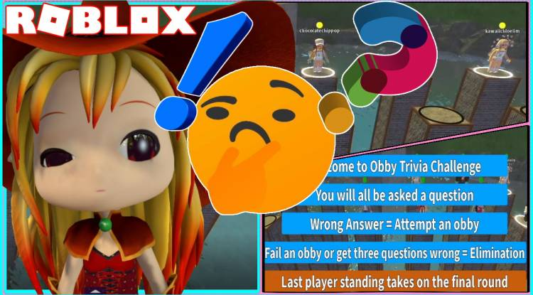 Roblox Obby Trivia Challenge Gamelog - August 24 2020