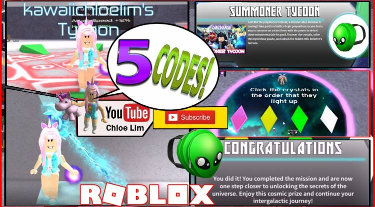 Roblox Summoner Tycoon Gamelog - July 1 2018