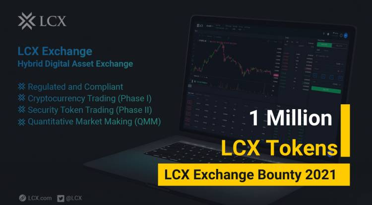 1 Million LCX Tokens Giveaway
