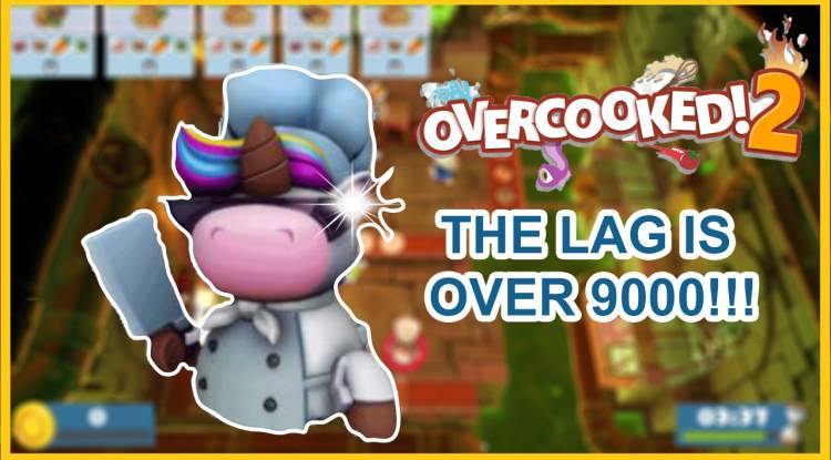 Cooking Gameplay: Overcooked 2 Funny gameplay