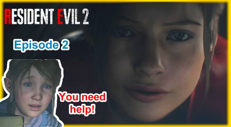 Horror let's play: Resident Evil 2 Remake Part 2