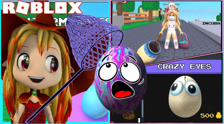 Roblox Be an Egg and Get Hunted Gamelog - April 12 2021