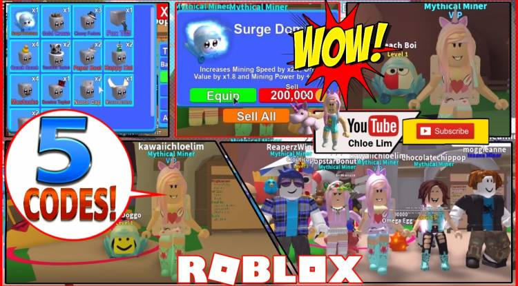 Omega Obby Roblox Roblox Mining Simulator Gamelog August 18 2018 Free Blog Directory