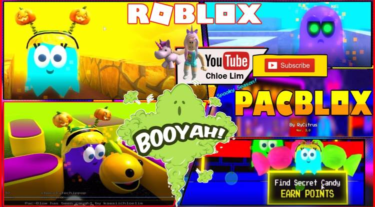 Roblox Pac-Blox Gamelog - October 9 2018