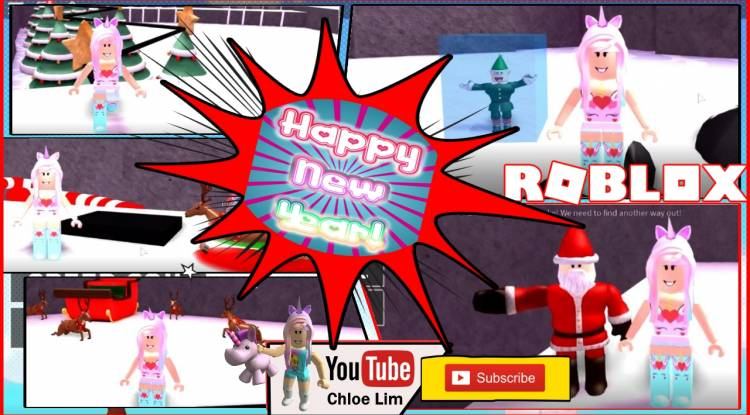 Roblox Escape The North Pole Obby Gamelog - January 1 2019