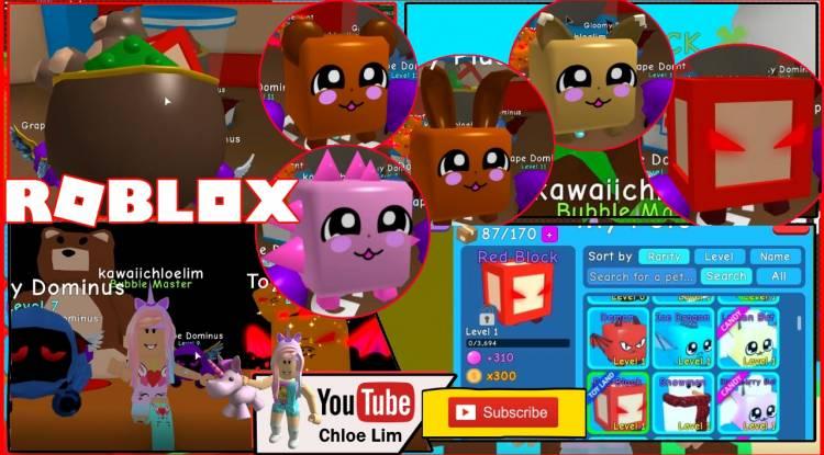 Roblox Bubble Gum Simulator Gamelog - February 3 2019