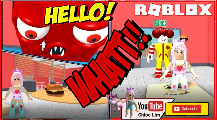 Roblox Escape the Mcdonalds Obby Gamelog - April 1 2019