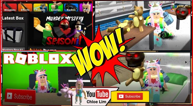 Roblox Murder Mystery 2 Gamelog - May 27 2019