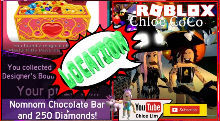 Roblox Royale High Halloween Event Gamelog - October 13 2019