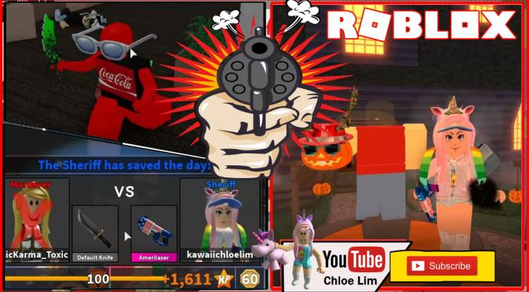 Roblox Murder Mystery 2 Gamelog - November 06 2019