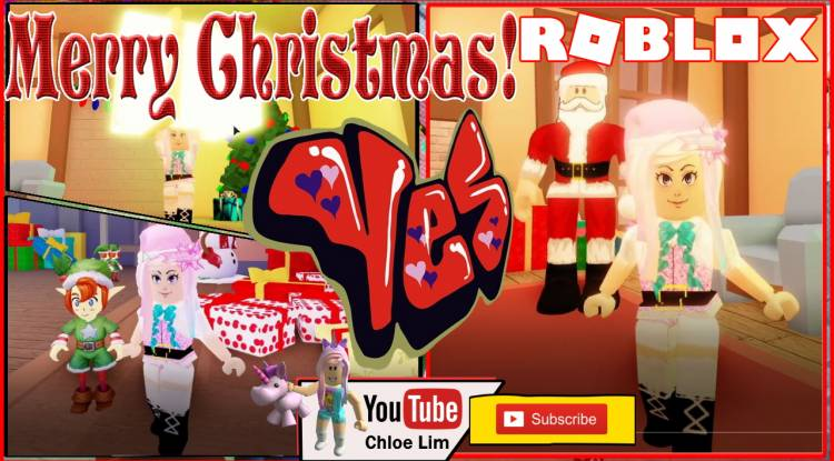 Roblox Saving Christmas Gamelog - December 25 2019