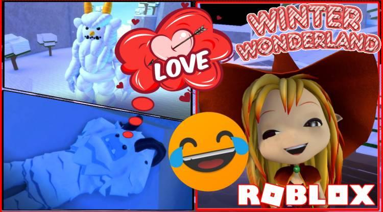 Roblox Winter Wonderland Gamelog - December 27 2019