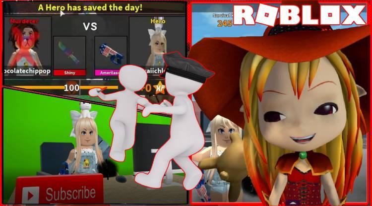 Roblox Murder Mystery 2 Gamelog - March 13 2020