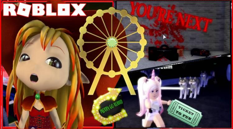 Roblox Amusement Park Gamelog - March 29 2020