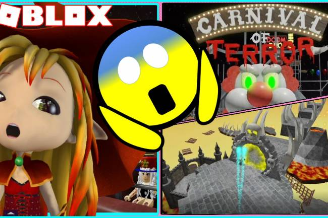Roblox Escape The Carnival of Terror Obby Gamelog - October 09 2020