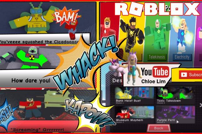 Roblox Heroes of Robloxia Gamelog - June 29 2018