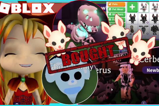 Roblox Adopt Me Gamelog - October 30 2020
