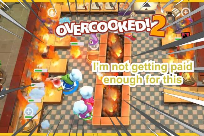 Cooking Gameplay: Overcooked 2 Funny Montage Part 1