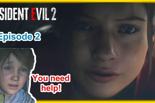 Horror let's play: Resident Evil 2 Remake Part 2