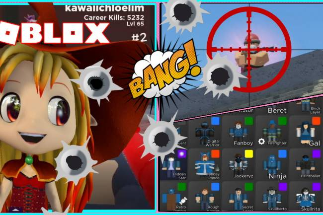 Roblox Arsenal Gamelog - January 27 2021