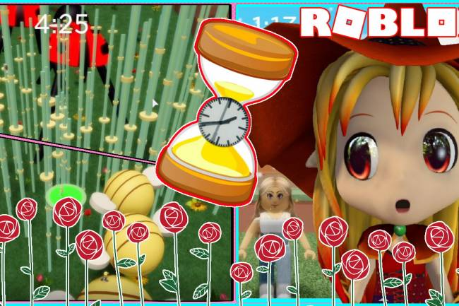Roblox Rose Garden Obby Gamelog - April 21 2021