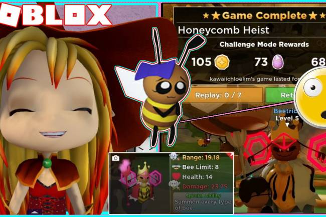 Roblox Tower Heroes Gamelog - April 24 2021
