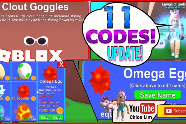 Roblox Mining Simulator Gamelog - July 22 2018