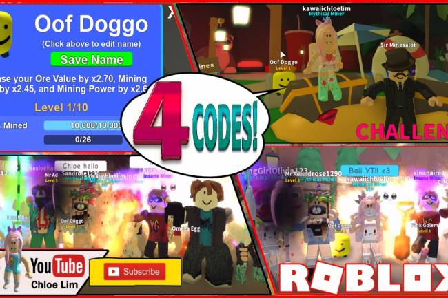 Roblox Mining Simulator Gamelog - August 12 2018