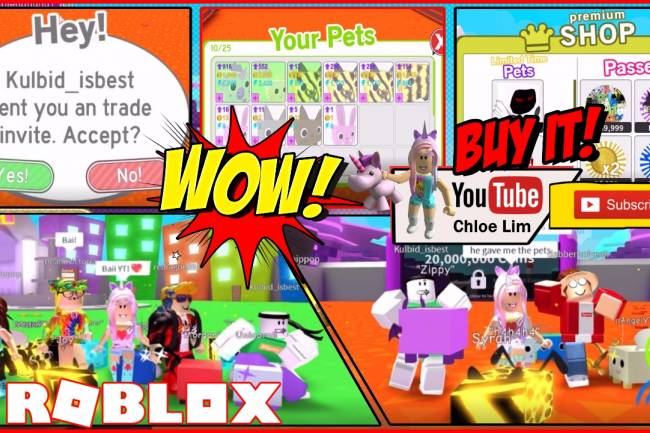 Roblox Pet Simulator Gamelog - August 22 2018