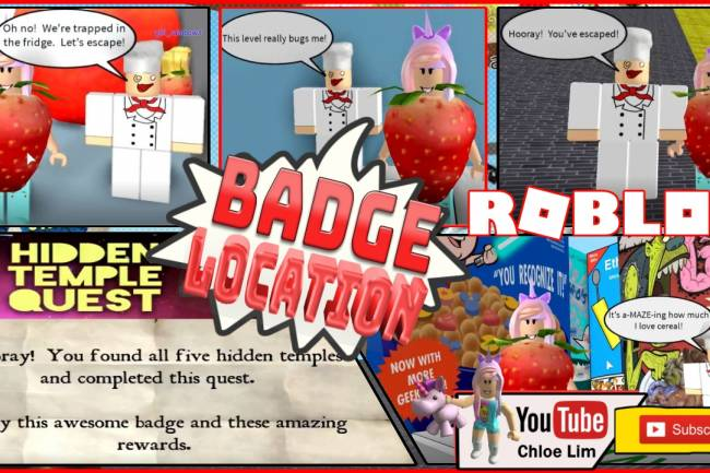 Roblox Escape The Amazing Kitchen Obby Gamelog - January 12 2019