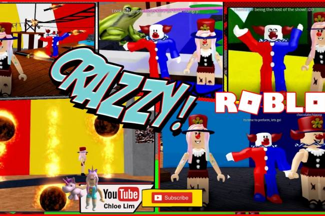 Roblox The Circus Obby Gamelog - February 21 2019