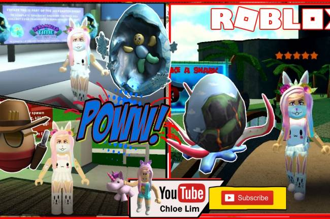 Roblox Zombie Rush, Freeze Tag and Disaster Island Gamelog - May 5 2019