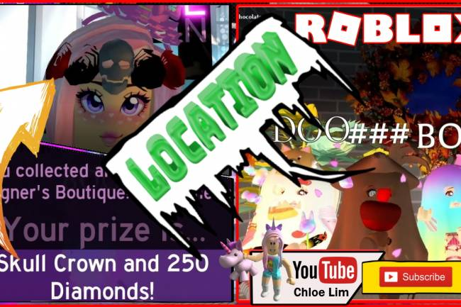 Roblox Royale High Halloween Event Gamelog - October 15 2019