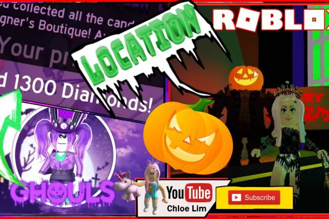 Roblox Royale High Halloween Event Gamelog - October 21 2019