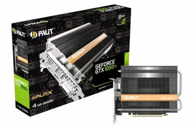 Palit GeForce® GTX 1050Ti KalmX 4GB